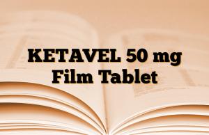 KETAVEL 50 mg Film Tablet
