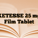 KETESSE 25 mg Film Tablet