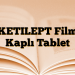KETILEPT Film Kaplı Tablet