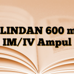 KLINDAN 600 mg IM/IV Ampul