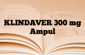 KLINDAVER 300 mg Ampul