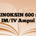 KLINOKSIN 600 mg IM/IV Ampul