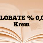 KLOBATE % 0,05 Krem
