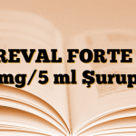KREVAL FORTE 15 mg/5 ml Şurup