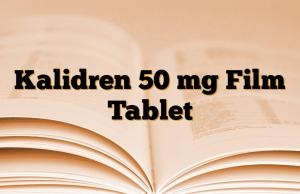 Kalidren 50 mg Film Tablet
