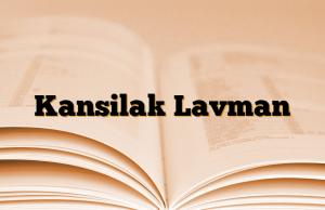 Kansilak Lavman