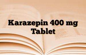 Karazepin 400 mg Tablet