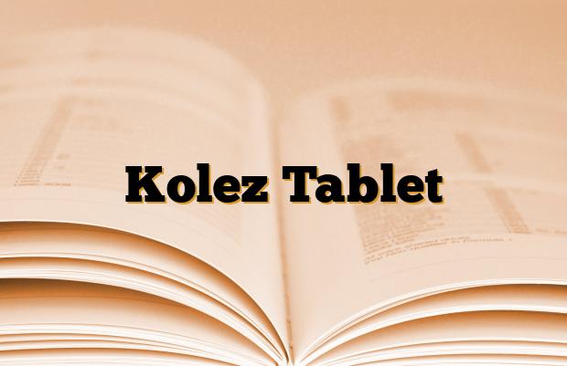 Kolez Tablet