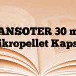 LANSOTER 30 mg Mikropellet Kapsül