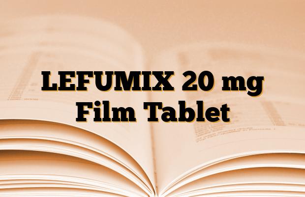 LEFUMIX 20 mg Film Tablet