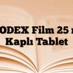 LEODEX Film 25 mg Kaplı Tablet