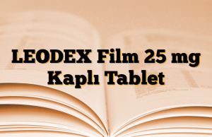 LEODEX Film 25 mg Kaplı Tablet