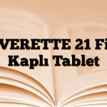 LEVERETTE 21 Film Kaplı Tablet