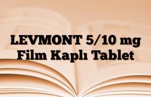 LEVMONT 5/10 mg Film Kaplı Tablet