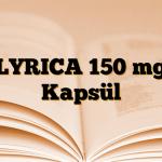 LYRICA 150 mg Kapsül