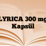 LYRICA 300 mg Kapsül