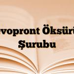 Levopront Öksürük Şurubu