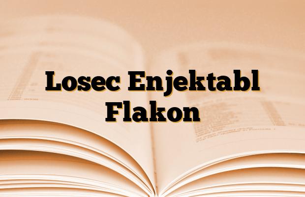 Losec Enjektabl Flakon