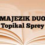 MAJEZIK DUO Topikal Sprey