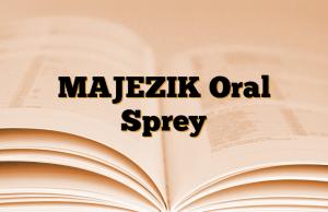 MAJEZIK Oral Sprey