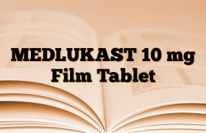 MEDLUKAST 10 mg Film Tablet