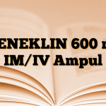 MENEKLIN 600 mg IM/IV Ampul