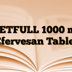 METFULL 1000 mg Efervesan Tablet