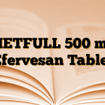 METFULL 500 mg Efervesan Tablet