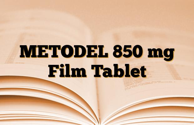 METODEL 850 mg Film Tablet