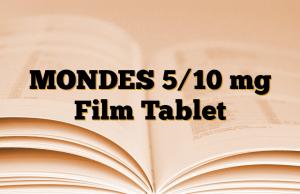 MONDES 5/10 mg Film Tablet