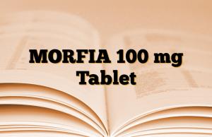 MORFIA 100 mg Tablet