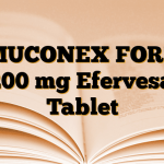 MUCONEX FORT 1200 mg Efervesan Tablet