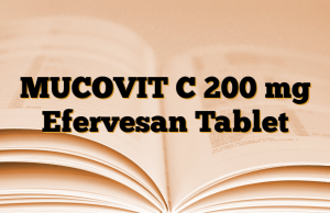 MUCOVIT C 200 mg Efervesan Tablet