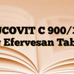 MUCOVIT C 900/300 mg Efervesan Tablet