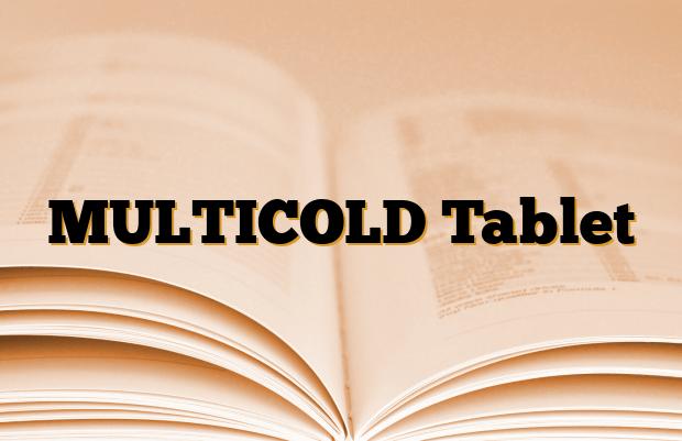 MULTICOLD Tablet