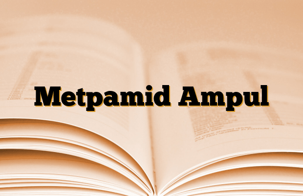 Metpamid Ampul