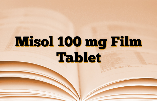 Misol 100 mg Film Tablet