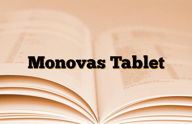 Monovas Tablet