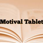 Motival Tablet