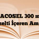 NACOSEL 300 mg Çözelti İçeren Ampul