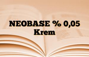 NEOBASE % 0,05 Krem
