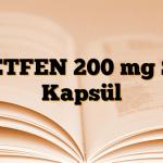 NETFEN 200 mg SR Kapsül