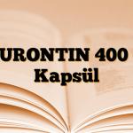 NEURONTIN 400 mg Kapsül