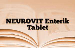 NEUROVIT Enterik Tablet