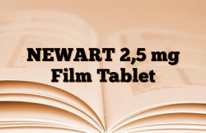 NEWART 2,5 mg Film Tablet