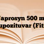Naprosyn 500 mg Supozituvar (Fitil)