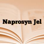 Naprosyn Jel