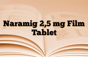 Naramig 2,5 mg Film Tablet