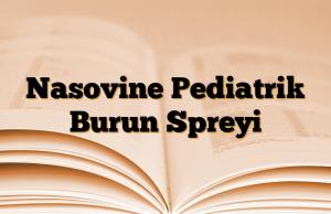 Nasovine Pediatrik Burun Spreyi
