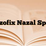Nazofix Nazal Sprey